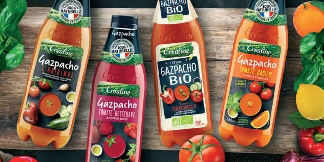 """Les """"Gazpachos"""" Créaline : 4 recettes bien fraîches pour l'été !"""