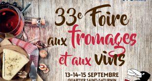 """33ème """"Foire aux Fromages et aux Vins"""" d'Antony du 13 au 15 septembre 2019"""