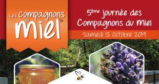 """5ème Édition de """"La Journée des Compagnons du Miel®"""" le samedi 12 octobre 2019"""