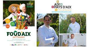 """""""Food'Aix"""" Fête Mistralienne et Fête Nationale de la Gastronomie, le samedi 22 septembre 2018"""