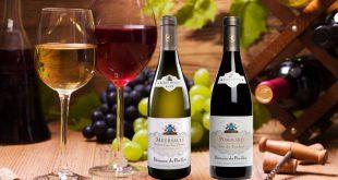 """Albert Bichot : deux grands vins du """"Domaine du Pavillon"""" s'invitent à votre table"""