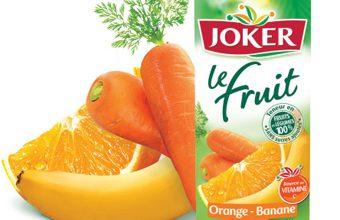 Photo de Joker lance «Le Fruit Orange Banane Carotte»