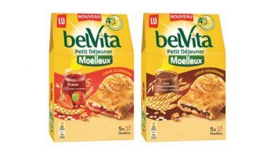 """Photo de Découvrez le nouveau LU """"belVita Petit-Déjeuner"""" moelleux cœur gourmand"""
