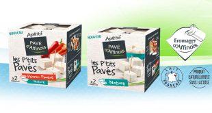 """Pavé d'Affinois lance  """"les P'tits Pavés"""" pour des apéritifs 100% gourmands"""