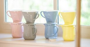 """Voyez votre automne en couleur avec les nouveaux """"Pour-Over"""" en porcelaine de Melitta® !"""