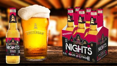 """Photo de Amsterdam lance """"Nights"""", sa nouvelle bière aromatisée au rhum et au citron"""