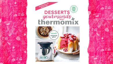 "Photo de ""DESSERTS gourmands"" AVEC thermomix® aux Éditions Larousse"