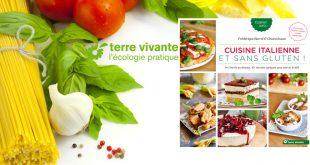 Cuisine italienne et sans gluten ! de Maria Chiara Russo et Frédérique Barral aux Éditions Terre vivante
