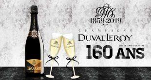 """Duval-Leroy dévoile une """"Cuvée Anniversaire"""" spéciale 160 ans pour les fêtes de fin d'année"""