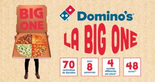 "Pour ses 30 ans, Domino's® Pizza lance la ""BIG ONE"""