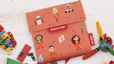 """Photo de """"Snack'n'Go®"""" Kids, le sac à goûter réutilisable by Roll'Eat®"""