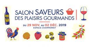 """""""Salon Saveurs des Plaisirs Gourmands"""" 23ème Édition du 29 novembre au 2 décembre 2019"""