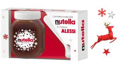Photo de Nutella® dévoile un Coffret Design avec Tartineur Alessi®