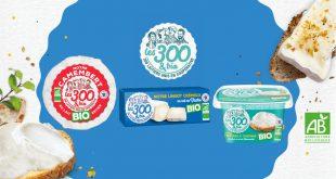 """Les 300&Bio dévoilent leurs premiers """"Fromages Bio"""""""