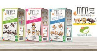 """Nature & Cie lance """"Miniz & Cie"""", une gamme gourmande et Bio à destination des enfants"""