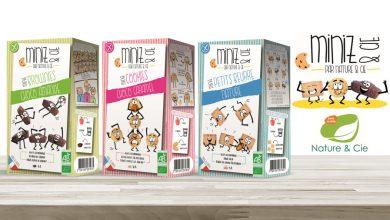"""Photo de Nature & Cie lance """"Miniz & Cie"""", une gamme gourmande et Bio à destination des enfants"""