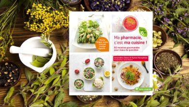 Photo de Ma pharmacie, c'est ma cuisine ! Par Amandine Geers & Sylvie Hampikian aux Éditions Terre vivante