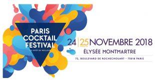 """""""Paris Cocktail Festival"""" 7ème Édition les 24 et 25 novembre 2018 à l'Élysée Montmartre"""