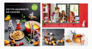 """Petits gourmets en cuisine """"Souris marmitons"""" Laura Annaert, Odile Bailloeul, Claire Curt aux Éditions Ulmer"""