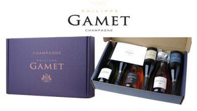 Photo de Surprise, découverte, design… le Champagne Philippe Gamet s'exprime pour Noël !
