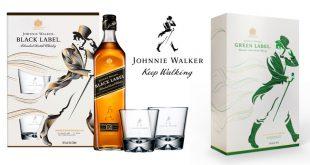"""La référence des """"Scotch Whiskies"""" d'exception, Johnnie Walker, dévoile deux coffrets en Édition Limitée"""