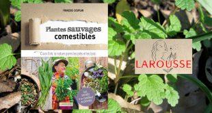 """""""Plantes sauvages comestibles"""" par François Couplan aux Éditions Larousse"""