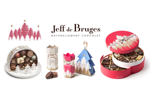 collection noel 2018 jeff de bruges Les chocolats