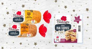 """La Boulangère propose des pains savoureux pour réaliser des recettes """"Créatives et Festives"""""""