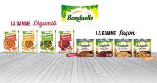 """Bonduelle agrandit ses gammes """"Légumiô"""" et """"Façon"""""""