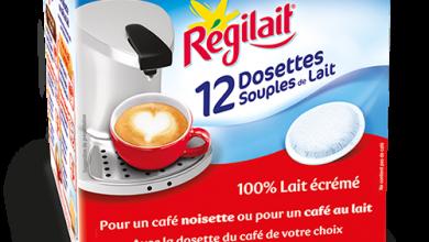 Photo de Régilait® lance la 1ère dosette souple de lait !