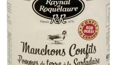 Photo de Raynal et Roquelaure, Manchons Confits Pommes de terre à la Sarladaise