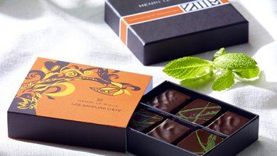 Photo de Le coffret Henri Le Roux « Saveurs d'été 2013 » avec son nouveau bonbon de chocolat « Ment »